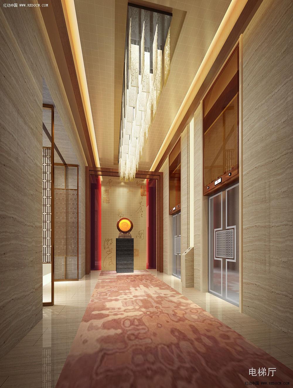 3 南康酒店-电梯厅.jpg