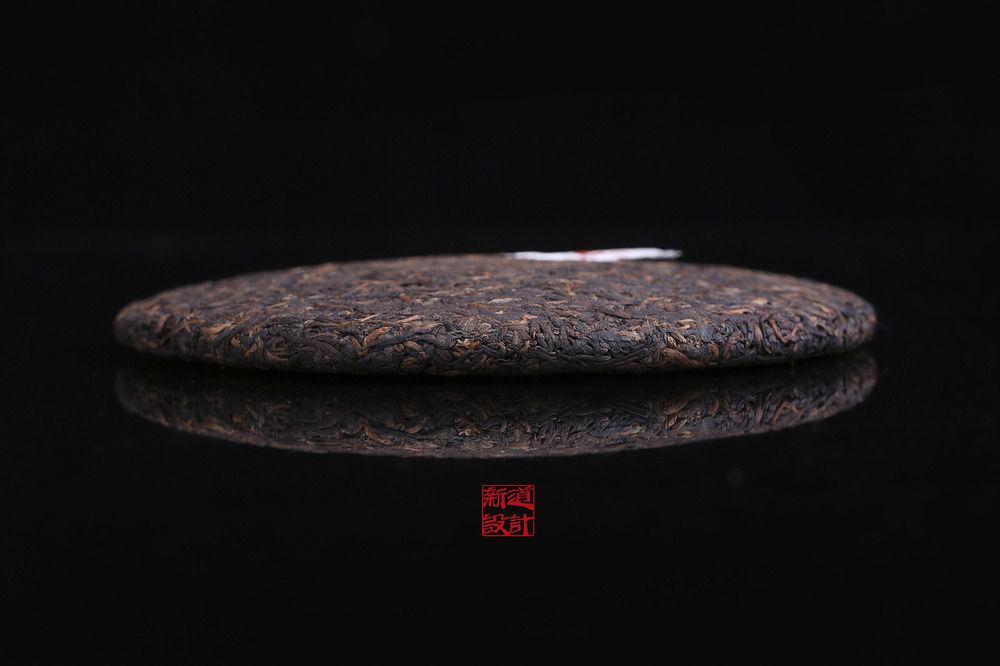 雨林古茶坊古树熟茶盘古包装设计 新道设计 普洱茶包装设计 茶叶包装设计作品 绵纸包装设计 纸箱包装设计 海报设计 (10).JPG