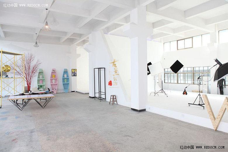成都设计摄影工作室装修设计公司 成都摄影会所设计 古兰装饰红友灌