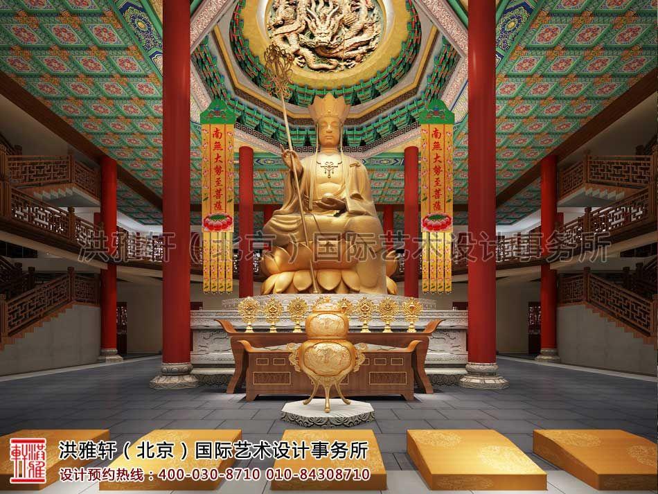 四川省遂宁市大悲寺寺院设计效果图案例_室内设计