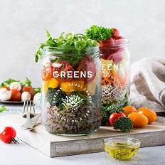 绿色有机灌装食品包装