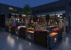 阿拉伯风格设计-深圳SALAM餐厅设计(皇庭广场店)