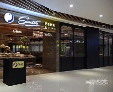 SANTOS圣多斯巴西烤肉店现代时尚风格设计(深圳上塘店)