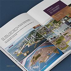 半人马案例:高端画册-地产沙盘模型艺博林画册设计