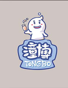 塔望 |『潼博』乳酸菌品牌logo创意