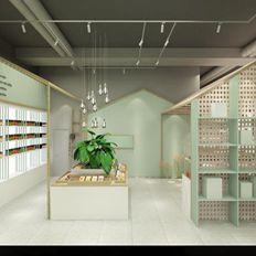 上海水果店设计,又精致又清新