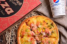 华莱士披萨&可乐 美食摄影