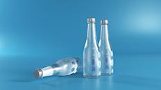 善汲轻氢分子水包装设计