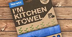 诺士厨房巾包装设计