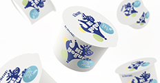 L\'soie 酸奶包装设计