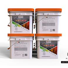 白乳胶涂料包装设计-悟杰视觉设计