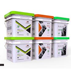 几款乳胶漆包装桶设计-悟杰高端视觉设计