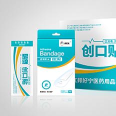 医疗包装设计、创口贴包装设计、