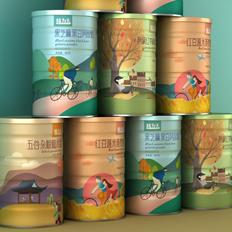 五谷代餐粉包装设计