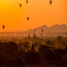 被误解的缅甸小勐拉,夕阳下的维加斯美哭了世界