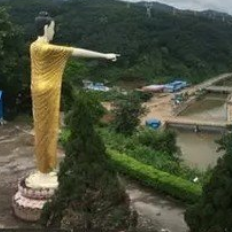 缅甸小勐拉异国风情别样的建筑!