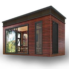 装配式建筑移动茶室