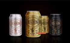 源自欧洲的麦芽精酿黑啤包装设计古一设计出品