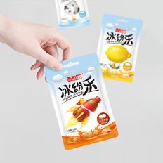 酷莎品牌冰纷乐压片糖系列包装设计