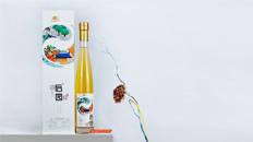 石棉县后园生物科技有限公司果酒产品包装设计升级