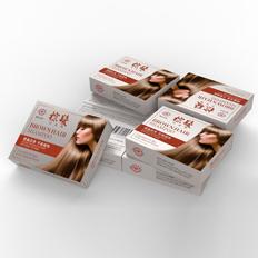 染发剂包装盒设计-悟杰品牌视觉设计