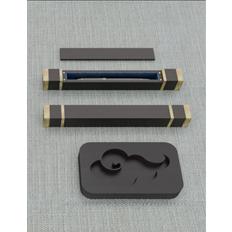 文房套盒(笔、砚台、镇尺、印章、书签)