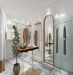 成都服装店装修如何设计「卓巧」成都服装店室内设计风格