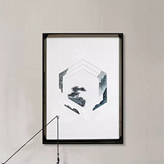 纸艺实物画——室内设计艺术装饰画图片素材