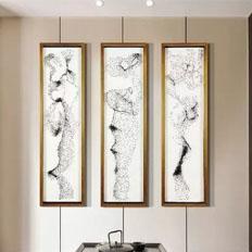 钉子实物装饰画——室内软装设计图片素材