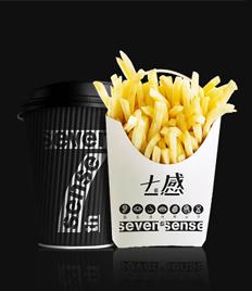 七感 · seven sense 快餐店品牌设计