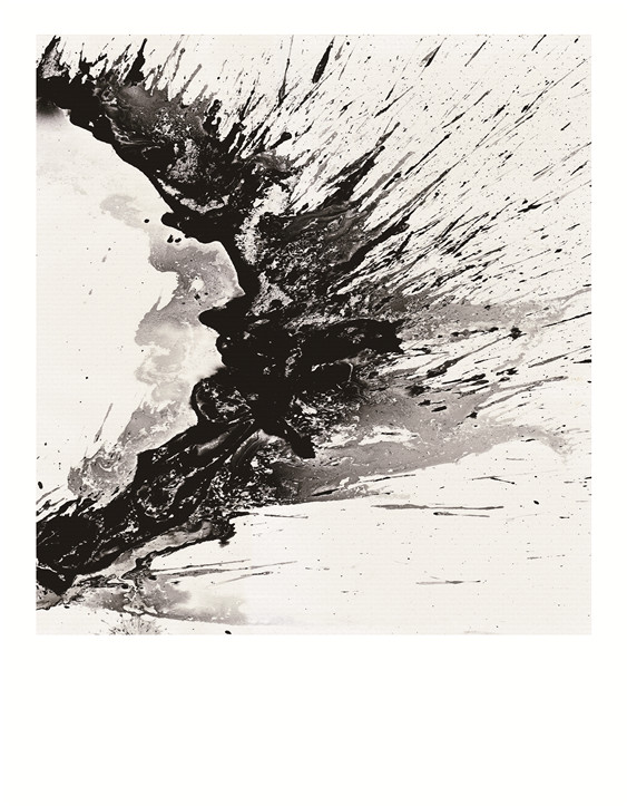 手绘抽象油画——室内设计艺术搭配图片素材