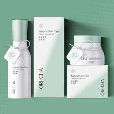 化妆品/包装设计/ORI-CHA/自然护肤专家