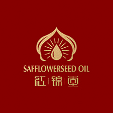 红锦堂品牌  红花籽油 长春至臻品牌设计