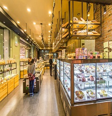 成都蛋糕店装修「卓巧」成都中小型蛋糕店如何装修风格?