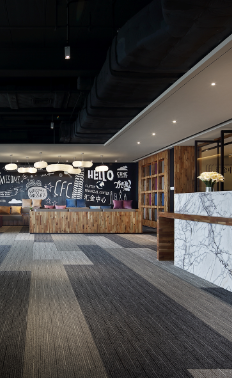 广州办公空间设计【艺鼎新作】一个让人想24小时上班的办公空间
