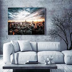 晶瓷画《城市》摄影作品系列