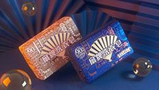 上海制皂 扇牌洗衣皂包装设计